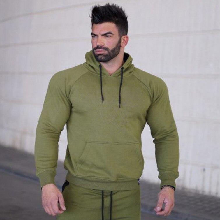 Купить мужской спортивный кардиган для фитнеса толстовка с капюшоном