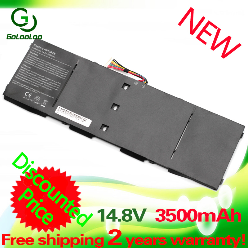 Golooloo 14.8V Laptop Battery For Acer Aspire AP13B3K AP13B8K M5-583P R7 V5-572P R7-571 V5-572G V5-572 ES1-511 V5-473PG V5-552PG