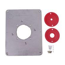 Woodworking Cutting Engraving Machine Flip Board Insert Plate DIY Kit Aluminum