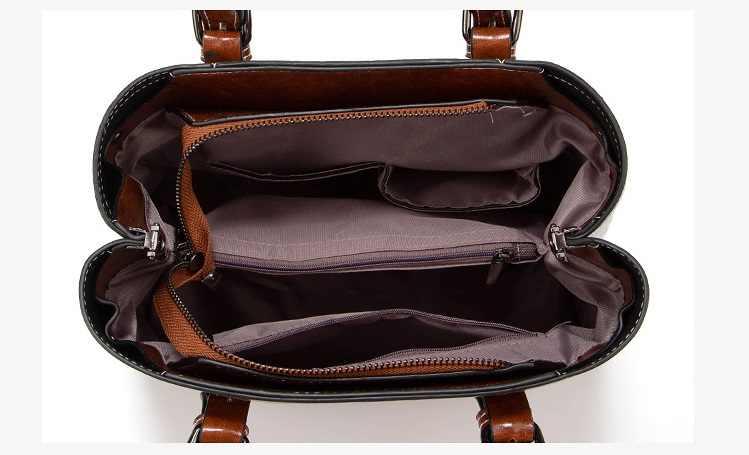 Mode Boston en cuir véritable sacs à main de luxe femmes sacs de messager sac à bandoulière design femme fourre-tout Bolsos Mujer rétro C1198