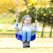 Flying Toy Garden Swing Kids Hanging Seat Toys with Height Adjustable Ropes Indoor Outdoor Toys Rainbow Curved Board Swing Chair cheap CN(Origin) Plastic 4-6y 7-12y 12+y In-Stock Items 21415