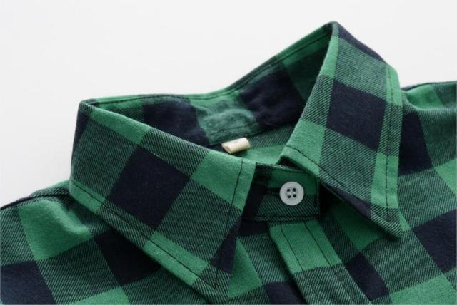 2020 New Women Blouses Brand New Excellent Quality Cotton 32style Plaid Shirt Women Casual Long Sleeve Shirt Tops Lady Clothes 6