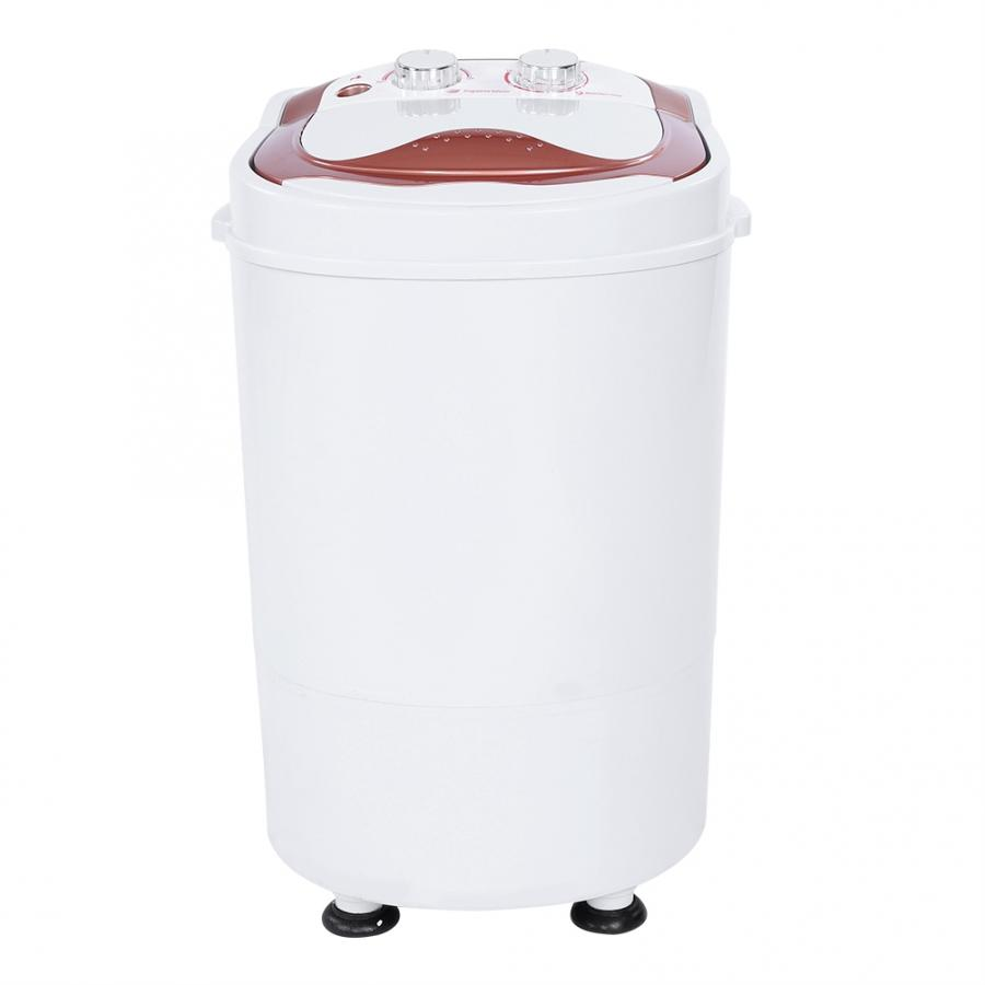Full-Automatic Washing Machine Mini Portable Single-barrel Laundry Washer 220V/110V