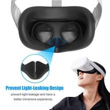 Capa de lente face pad controlador alças de mão polegar aperto para oculus quest 2