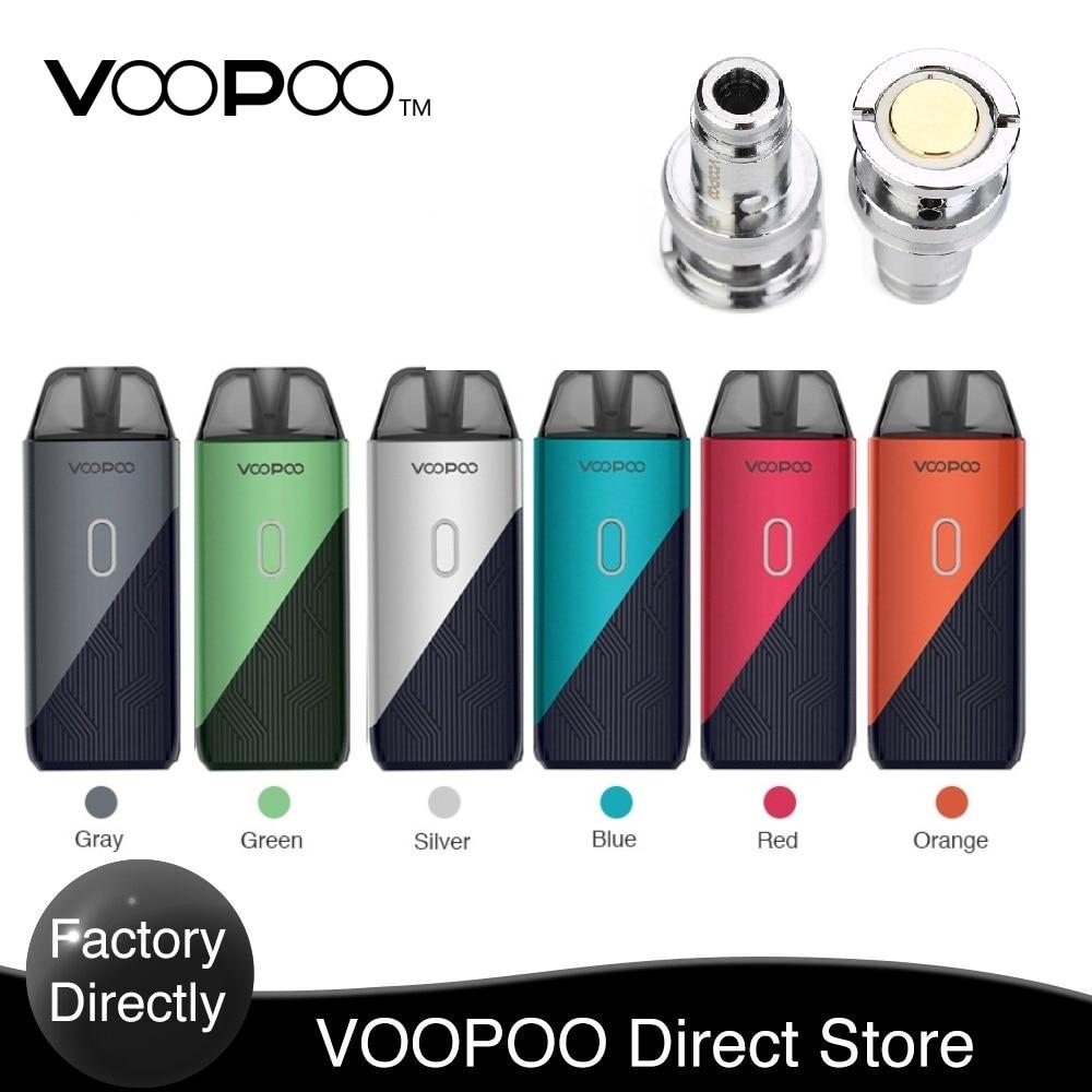 Original VOOPOO FIND TRIO Pod Kit With 1200mAh Battery & 2ml/3ml Pod System & 0.8ohm/ 1.2ohm PnP Coil E-Cig Vape Pod  Kit