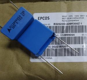 Image 2 - 2PCS NEW EPCOS B32523S1226K 22UF 100V PCM22.5 film capacitor 226/100V p22.5mm MKP 22uf/100v 100VDC 226 22U