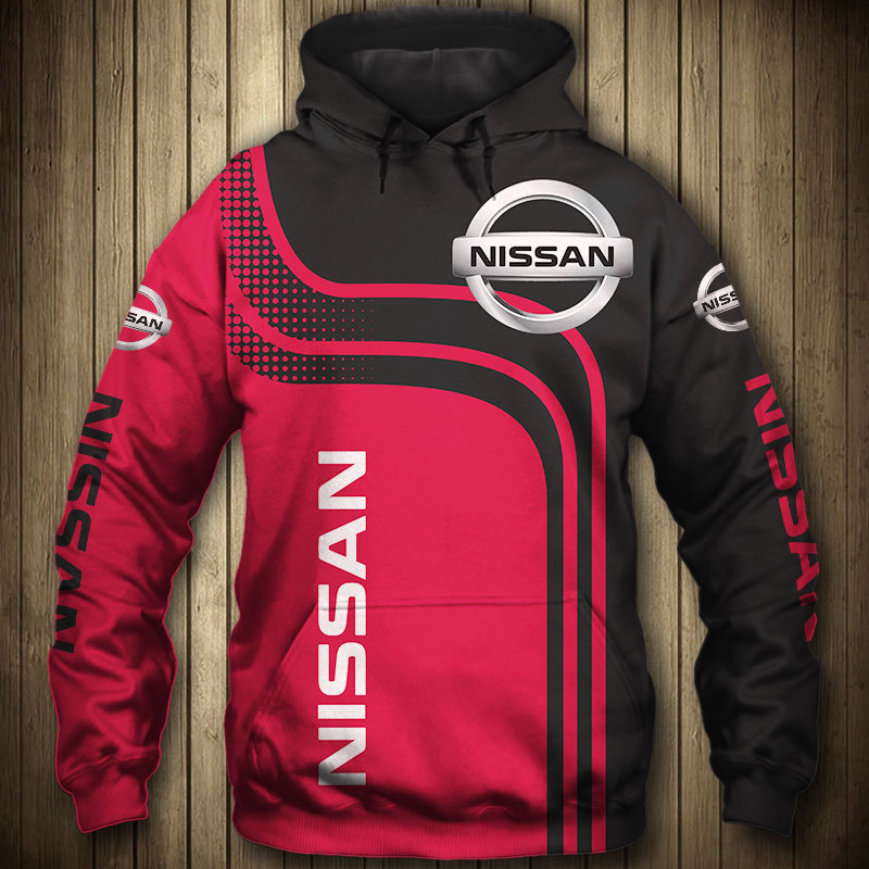 2020 New for Nissan Car 3D Logo Printed Spring Autumn Men's Hoodies Fashion High Quality Men Clothes Pullovers Casual Sportswear