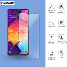 Tempered glass for Samsung Galaxy A50 screen protector 2020 Ultra-thin 2.5D screen protector for Samsung Galaxy Note 8 9 protective tempered glass screen protector for samsung galaxy note 2 n7100 transparent