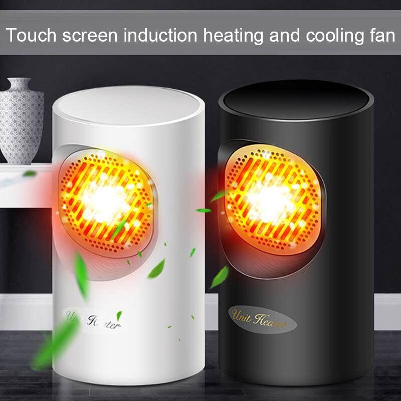 Теплые Отопление Электрический обогреватель вентилятор мини электрический обогреватель 360W 220V 2-в-1 нагрева/охлаждения экономического Порт...