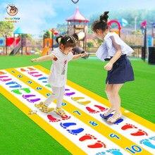 Crianças ao ar livre indoor jumping tapete jogo esteira do jardim de infância educação precoce brinquedos bebê salto treliça divertido jogo brinquedos para crianças m09