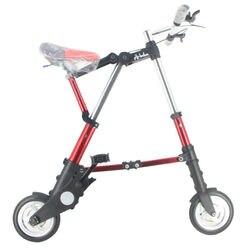 Altruísmo a-bicicleta unissex 8 Polegada roda mini ultra leve dobrável bicicleta metrô trânsito veículos estrada esportes ao ar livre