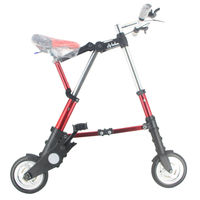 Altruísmo a bicicleta unissex 8 Polegada roda mini ultra leve dobrável bicicleta metrô trânsito veículos estrada esportes ao ar livre|folding bike|light folding bike|road bicycle -