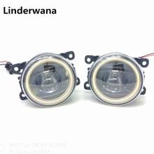 For Mitsubishi L200 Outlander Pajero Grandis Galant 2003-2015 New Led Fog Lights 30W Angel Eyes Fog Lamp Assembly 2pcs цены