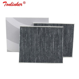 Image 3 - Cabin Filter Oem 64119163329 For Bmw 5 F07 F10 F11 2009 2019 518d 520d 520i 523i 525i 528i 530d 535d 550i M5 2Pcs Carbon Filter