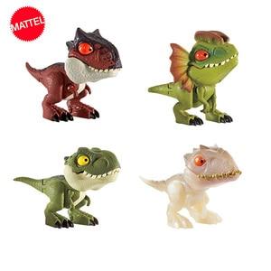 Image 3 - Jurassic World Mini Joint Dinosaur Action Anime Figure Toys Figuras De Coleccion De Accion Hot Toys for Children Boys Girls Gift