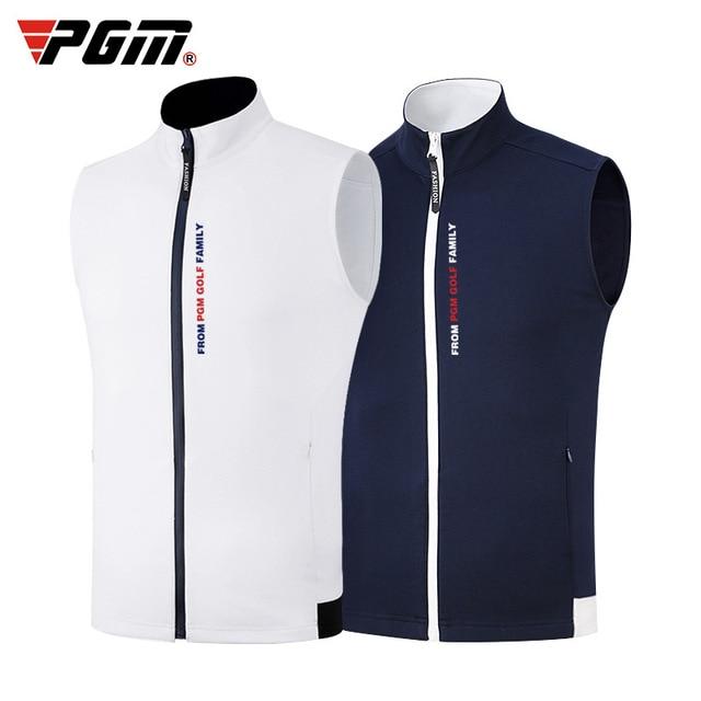 1 Piece Golf Vest PGM Apparel golf Clothes Mens vest autumn and winter thermal vest windproof waterproof jacket