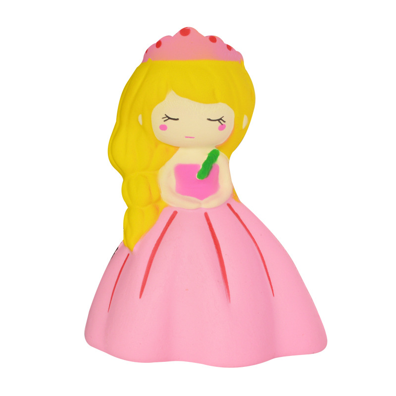 Jumbo Princess Squishy Snow White Doll Kawaii Slow Rising Soft Bread Scented Squeeze Toy Stress Relief Fun For Kid Gifts