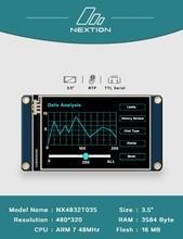 2.4 2.8 3.2 3.5 بوصة Nextion HMI الذكية الذكية USART UART spi اللمس TFT وحدة عرض LCD لتوت العليق بي 2 A + B + uno ميجا