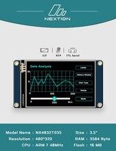 2.4 2.8 3.2 3.5 inç Nextion HMI akıllı akıllı USART UART spi dokunmatik TFT LCD modül ekran ahududu Pi için 2 A + B + uno mega