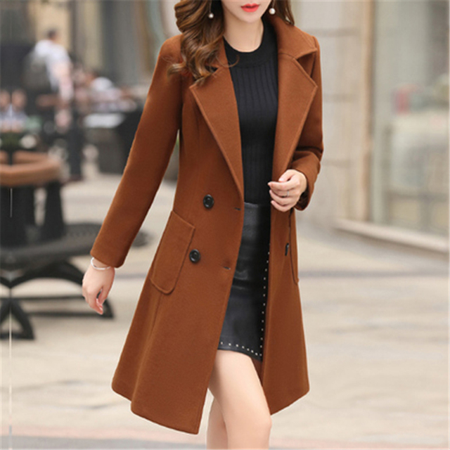 New Women Overcoat Wool Coat High Quality