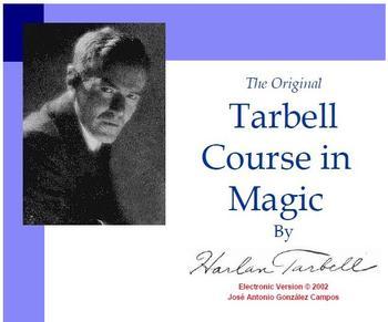 Harlan Tarbell The Original Course in Magic of magic tricks