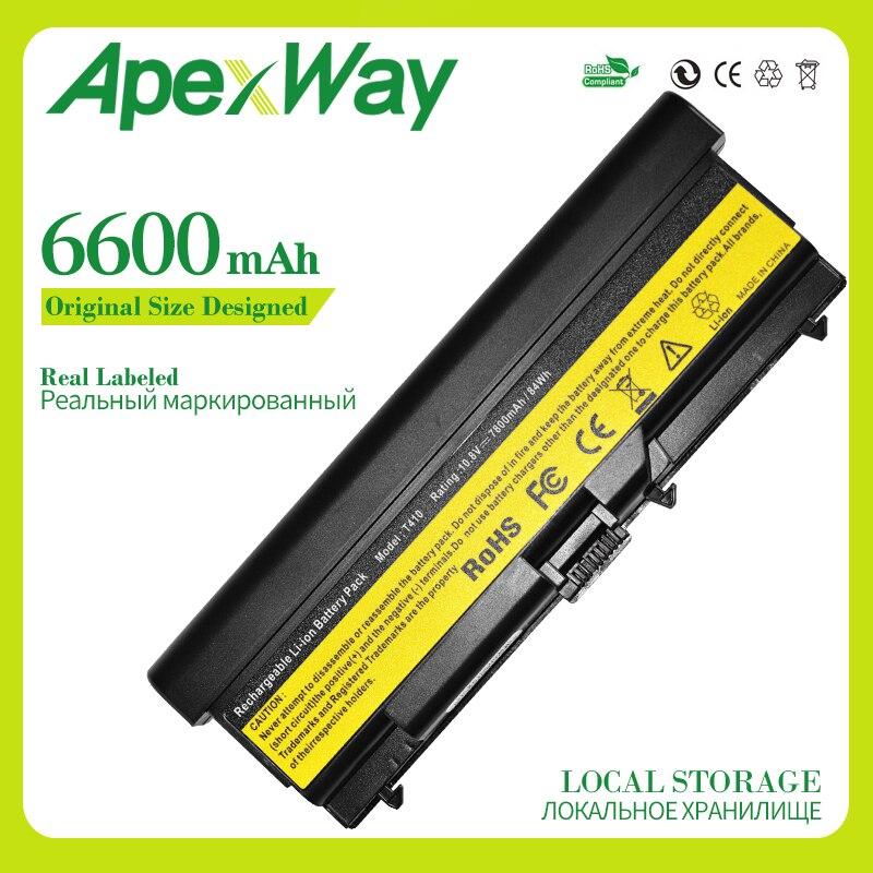 Apexway 9 ячеек аккумулятора для lenovo ThinkPad Edge 14 T510 T510i T520 W510 W520 T410 T410i T420 42T4708 42T4709 42T4710 51J0499