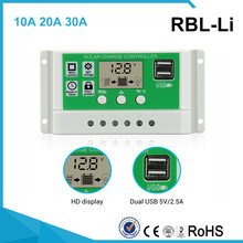 ЖК дисплей powmr 30/20/10 а для солнечной зарядки свинцово кислотный