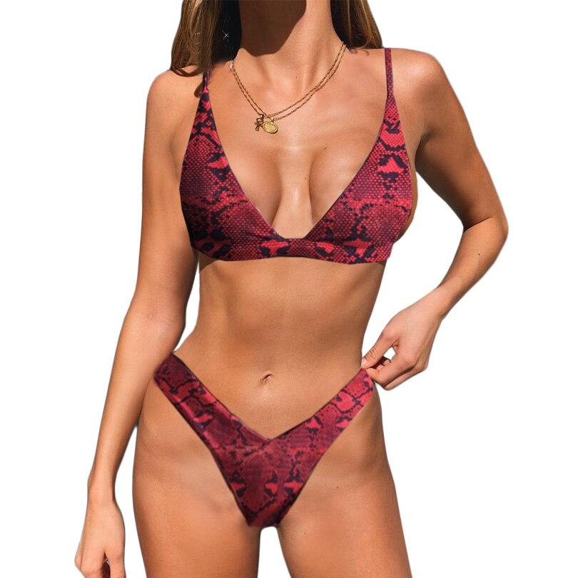 Brand Women Micro Bikini Set Push Up Swimwear Solid Beach Bathing Suit Brazilian Thong Swimsuit For Girls Bikini Swim Suit Femme