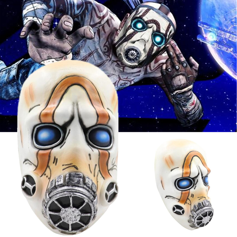 Around The Game <font><b>Borderlands</b></font> Mask Halloween Masquerade Party Stage Performance Cosplay Prop Accessories Latex Mask image