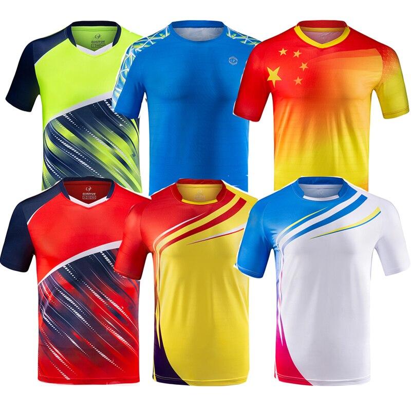 Бесплатная печать Мужская/Женская Мужская футболка для бадминтона, Мужская футболка для настольного тенниса, Женская Мужская теннисная рубашка, рубашка для бега с коротким рукавом, рубашки для волейбола|Кофта для настольного тенниса|   | АлиЭкспресс