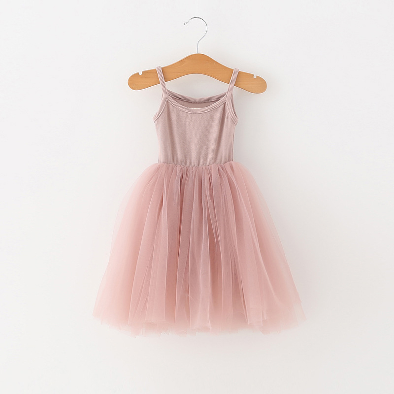 Little Girls Dress For Party Wedding Summer 2021 Baby Kids Dresses for Girls Children's Party Princess Tutu Dress Casual Clothes 5