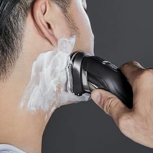 Image 2 - SOOCAS rasoir électrique Mijia ES3, Rechargeable, avec affichage numérique LED 3D, pour barbe, pour hommes, Xiaomi 5