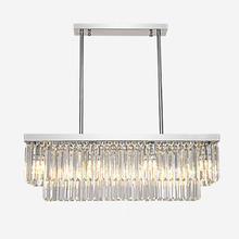 Chandelier Modern Decoration-Light LED K9 Crystal Contemporary Hotel Dining-Room Luxury