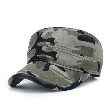 Sombrero militar de camuflaje para hombre y mujer, gorra con visera de las fuerzas especiales, Gorro cadete de la URSS, gorra militar Boina de Sailor Bone
