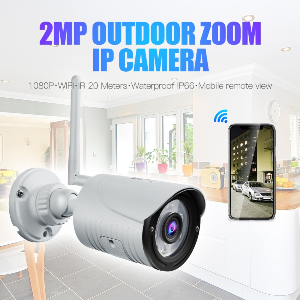Wanscam K22 HD 1080P 2.0MP Wireless Security IP Camera Waterproof Night Vision IR-cuts Surveillance Camera H.264 Bullet Camera