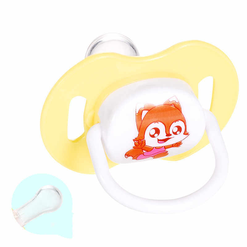 Bebê silicone chupeta calmante infantil mordida mastigar suprimentos conforto recém-nascido apaziguar mamilo plana teta chupetas