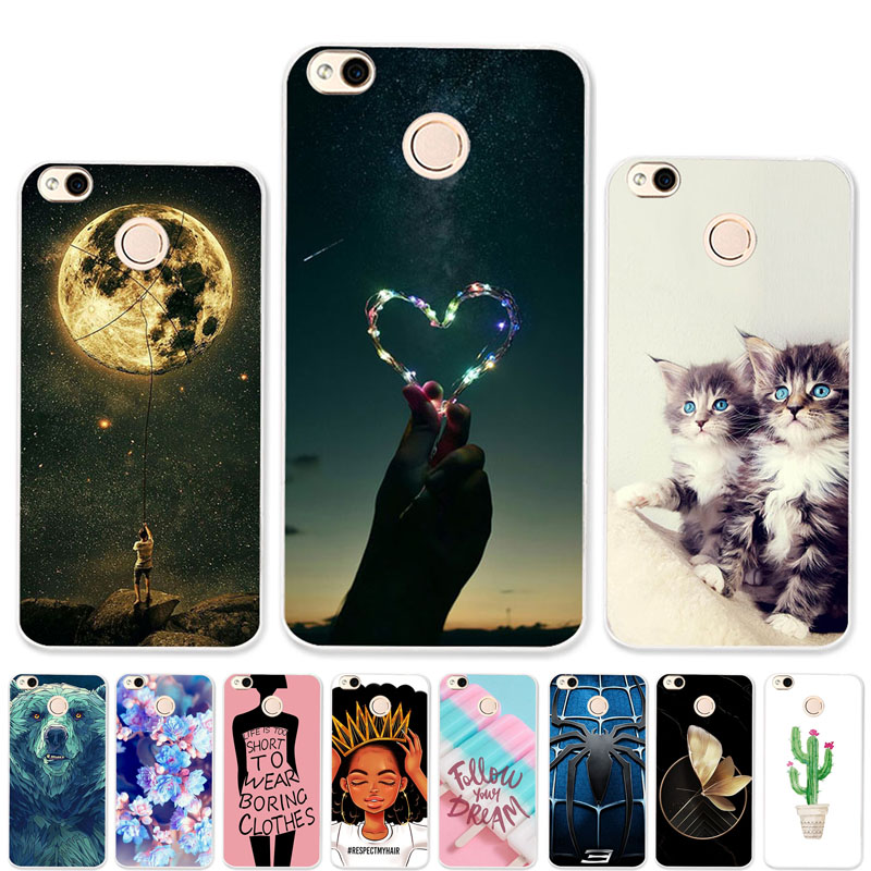 Soft <font><b>TPU</b></font> <font><b>Case</b></font> For Xiaomi <font><b>Redmi</b></font> <font><b>4X</b></font> <font><b>Cases</b></font> Silicone Cover For <font><b>Xiomi</b></font> <font><b>Redmi</b></font> <font><b>Note</b></font> <font><b>4X</b></font> 4A Redmi4x <font><b>Cases</b></font> DIY Painted Cover Coque image