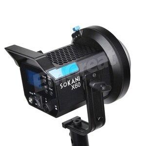 Image 5 - Sokani X60 V2 Led Video Licht 80W 5600K Versie 2 Daglicht CRI96 Tlci 95 + 5 Pre Geprogrammeerd Verlichting Effect Bowens Mount
