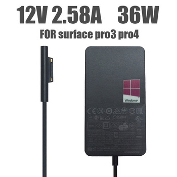 12V 2.58A 36W battery charger for Microsoft Surface Pro 3 Pro 4 core i5 i7 1631 1724 1625