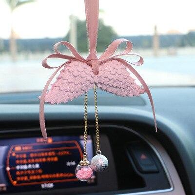 Автомобильные украшения Крыло ангела двухстороннее автомобильное освежитель воздуха висячие украшения подарок для салона автомобиля домашняя комната - Название цвета: pink wing