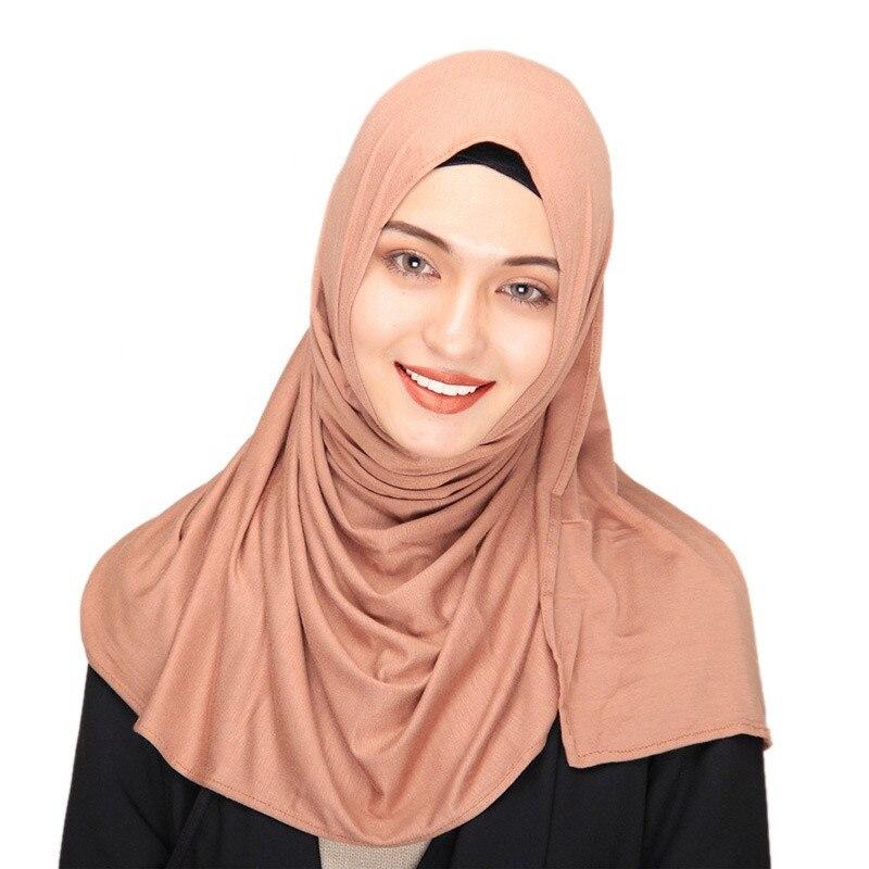 New-Fashion-Custom-Logo-Cotton-Hijab-Jersey