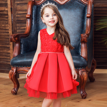 Vgiee Princess Dress for Girls Kids Knee-Length Cotton Fall Winter Style Little Girl Dresses Princess Dress for Baby Girl CC626A