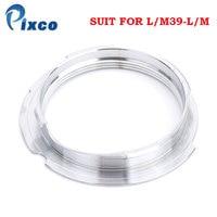 Pixco L/M39-L/M Suit Para Leica M39 50-75mm Lente de Montagem para Leica M Camera adaptador