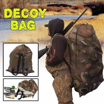 120cm x 75cm Duck Goose Turkey Decoy Bag Mesh With Shoulder Straps Bird Hunting Net Mesh for Hunting Backpack 1