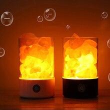 salt lamp Himalayan Crystal  salt lamp Healthy life Natural air purifier salt light   negative ionic Rock crystal Night light