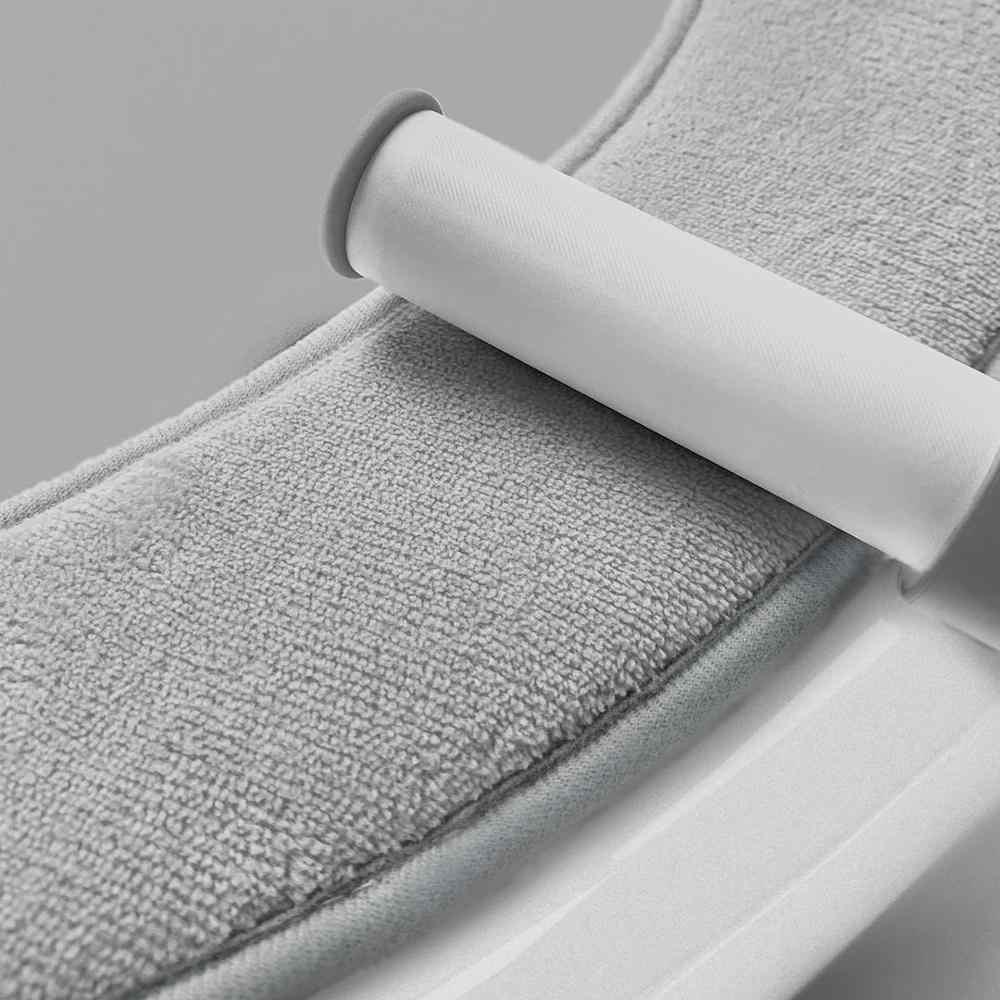 Youopin غطاء مقعد المرحاض حصيرة 1 زوج اختيار الفانيلا لا أثر الامتزاز سهلة لإزالة وغسل protable الدافئة closeالبراز حصيرة