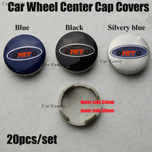 Badge Hub-Center-Caps Car-Wheel Kuga Custom Ford Auto-Covers 54mm 20PCS ABS Fusion Fiesta/Transit/Custom/..