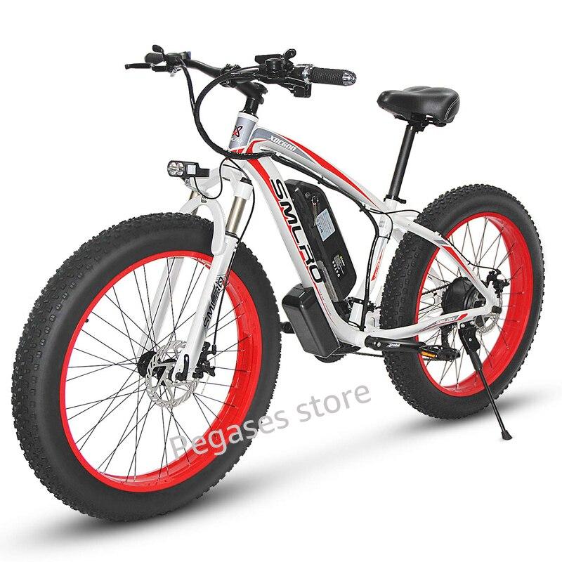 1000W puissant vélo électrique 26 pouces VTT électrique pour adulte 35 km/h 13AH batterie Ebike neige e-bike 21 vitesse