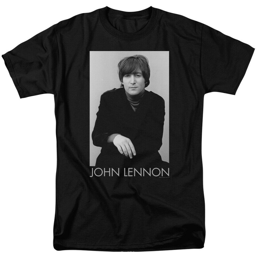 John Lennon Ex Beatle Licensed Adult T-Shirt Cool Casual Tee Shirt