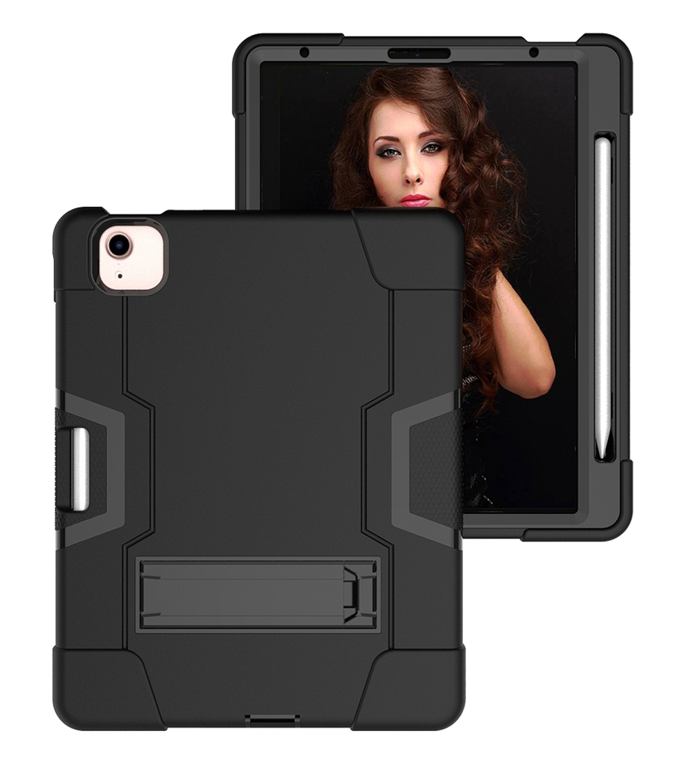 Black - Black Red For Apple iPad Air 4 4th Gen 10 9 inch 2020 A2324 A2072 Case Shockproof Kids